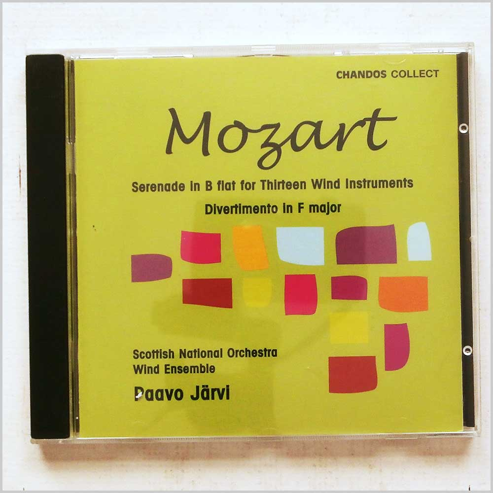 Paavo Jarvi - Mozart: Serenade in B flat for 13 Wind Instruments, Divertimento in F Major (95115657522)