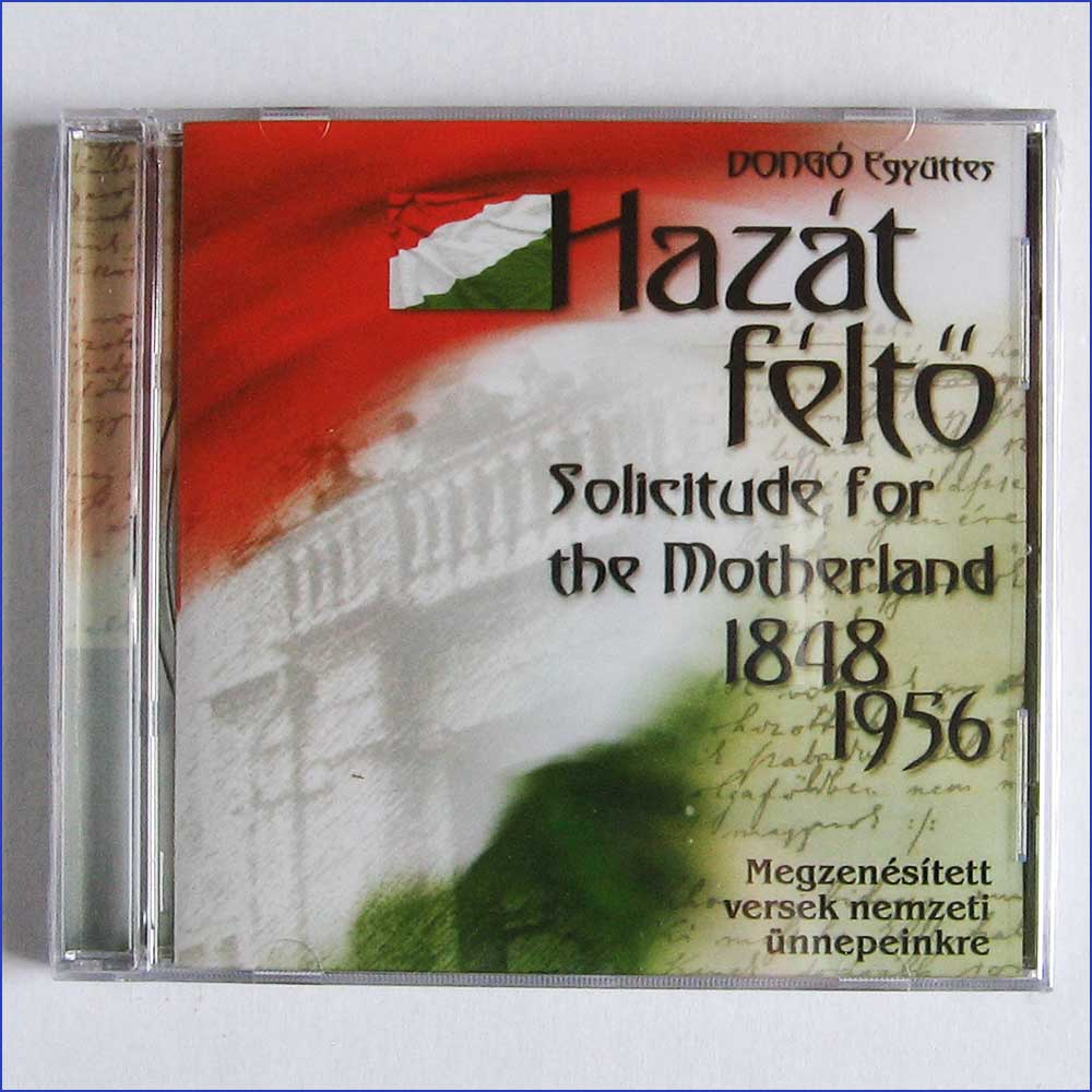 HAZAT FELTO, SOLICITUDE FOR THE MOTHERLAND - Hazat Felto, Solicitude for the Motherland - CD