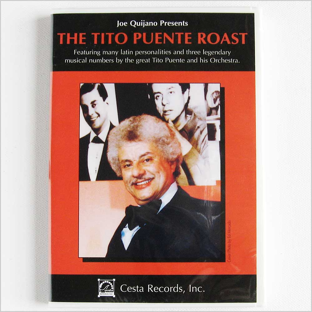 Tito Puente - The Tito Puente Roast, Presented by Joe Quijano (CESTADVD10001)