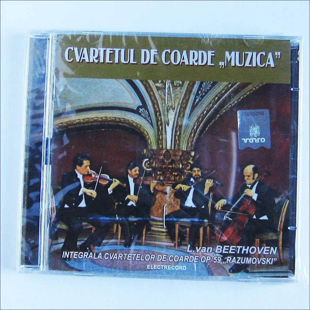 CVARTETUL DE COARDE MUZICA - Ludwig Van Beethoven, Integrala Cvartetelor De Coarde Op.59 Razumovschi - CD
