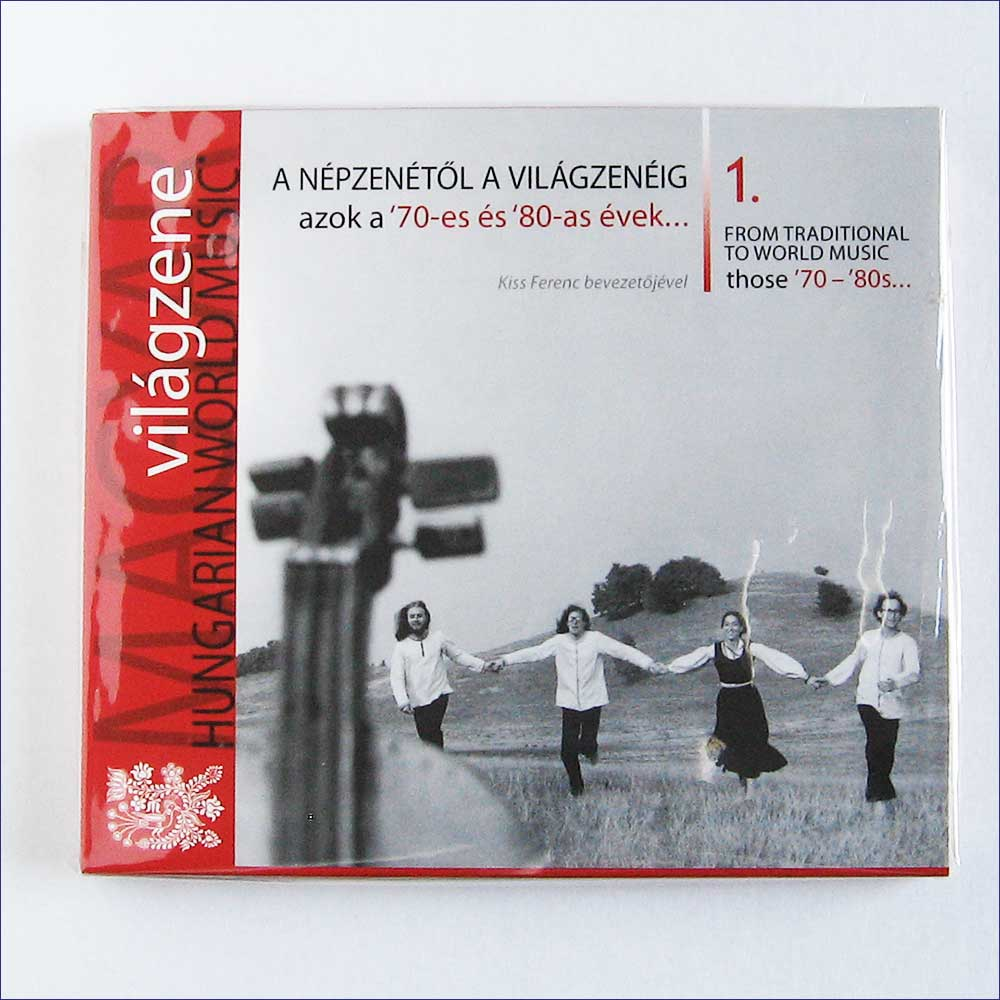 VARIOUS - Hungarian World Music 1, From Traditional To World Music – Those 1970–80s - CD