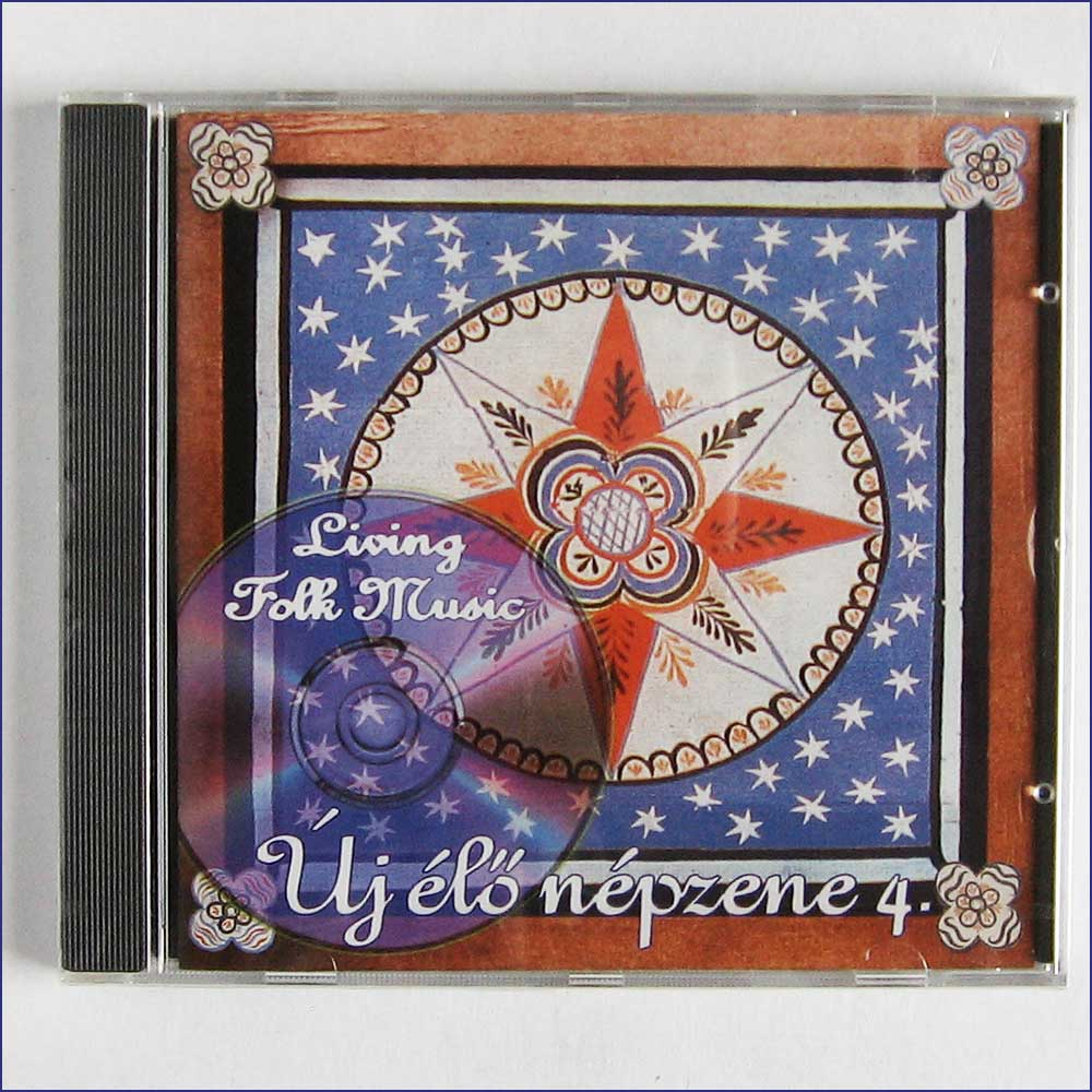 VARIOUS ARTISTS - Living Village Music, Uj Elo Nepzene 4 - CD