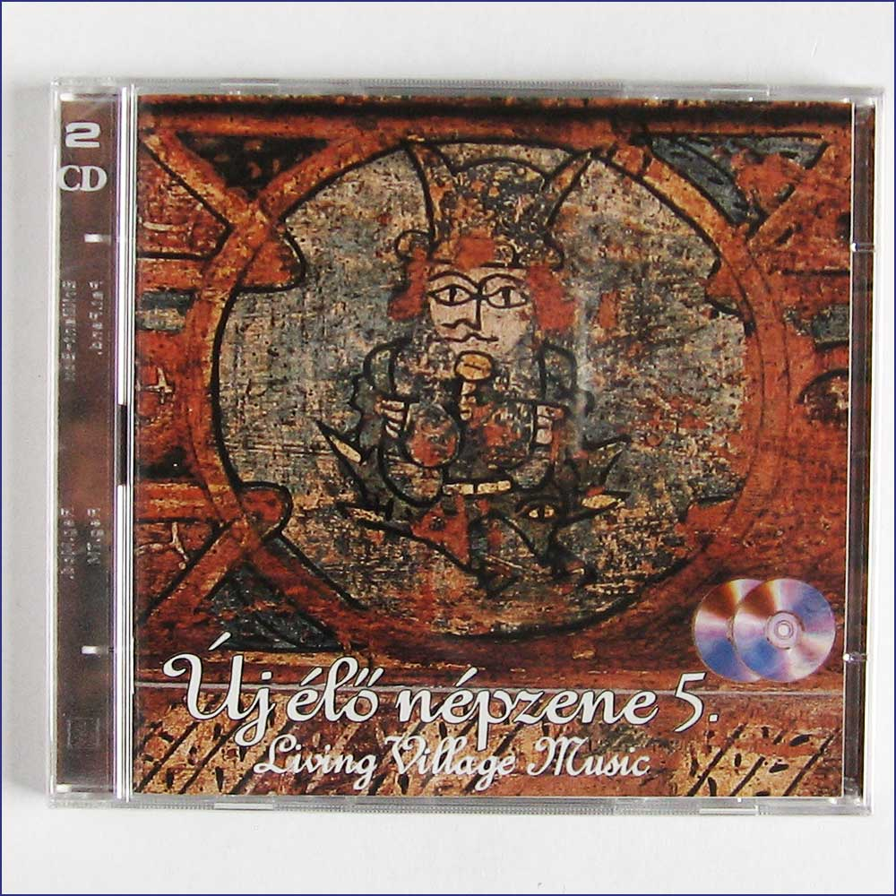 VARIOUS ARTISTS - Living Village Music, Uj Elo Nepzene 5 - CD
