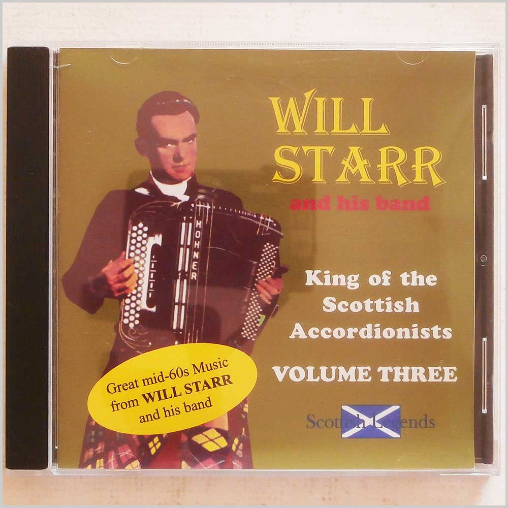 Will Starr and his Band - King of the Scottish Accordionists Volume 3 (LEGACY09CD)