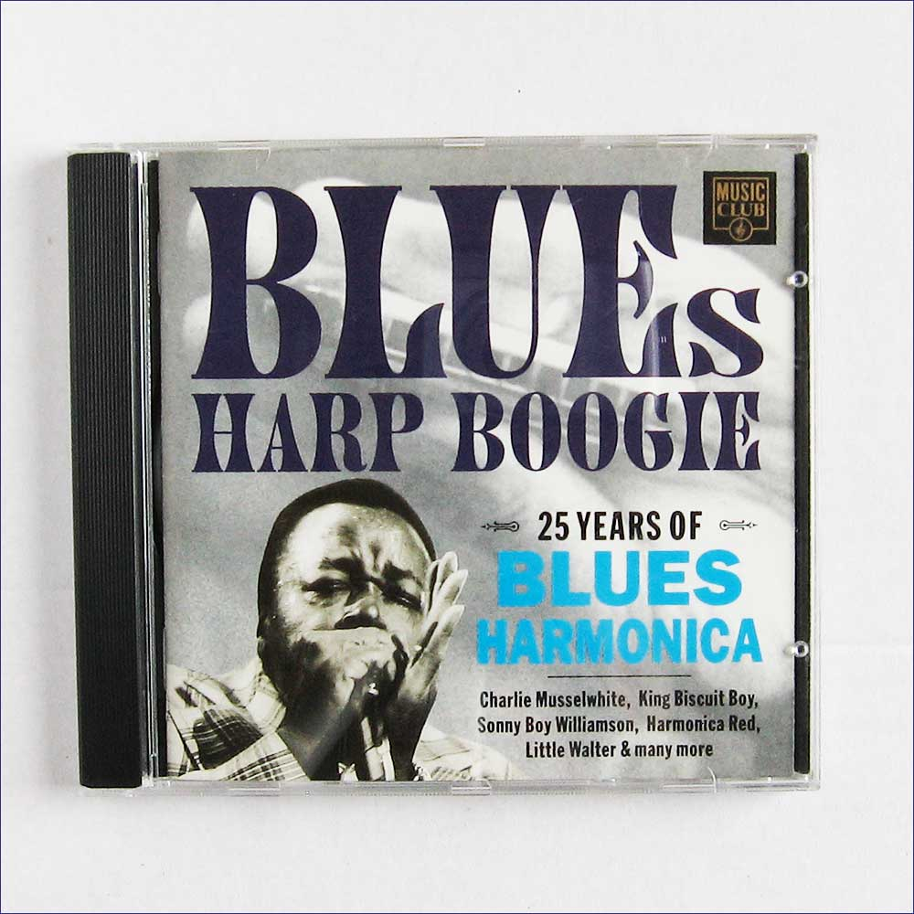 Various Artists - Blues Harp Boogie 25 Years Of Blues Harmonica