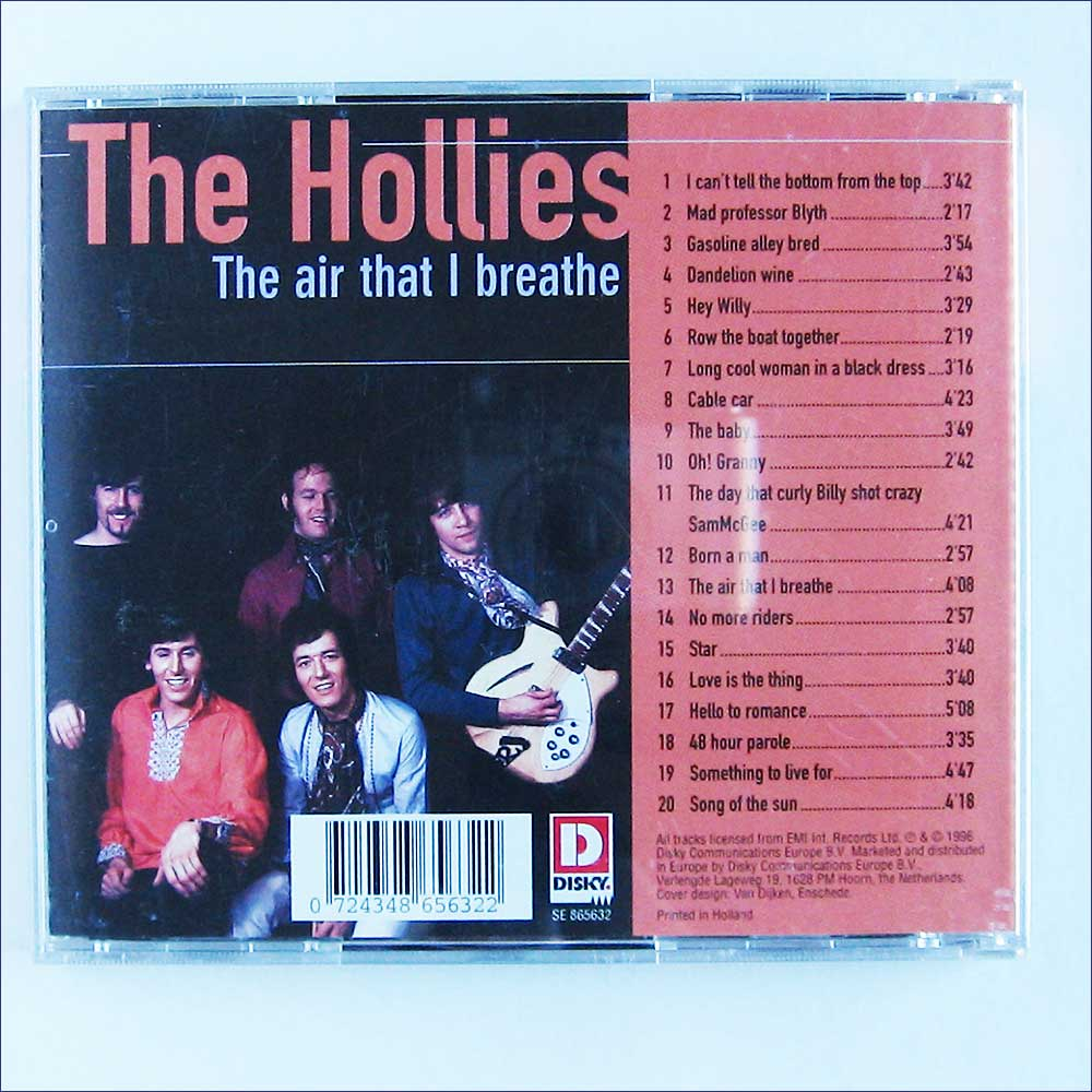 The Hollies - The Air That I Breathe (SE865632)