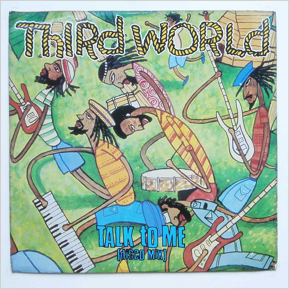 Third World - Talk To Me (12XWIP 6496)