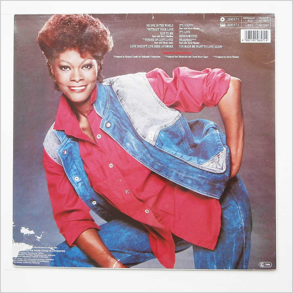 Dionne Warwick - Without Your Love (206 571)