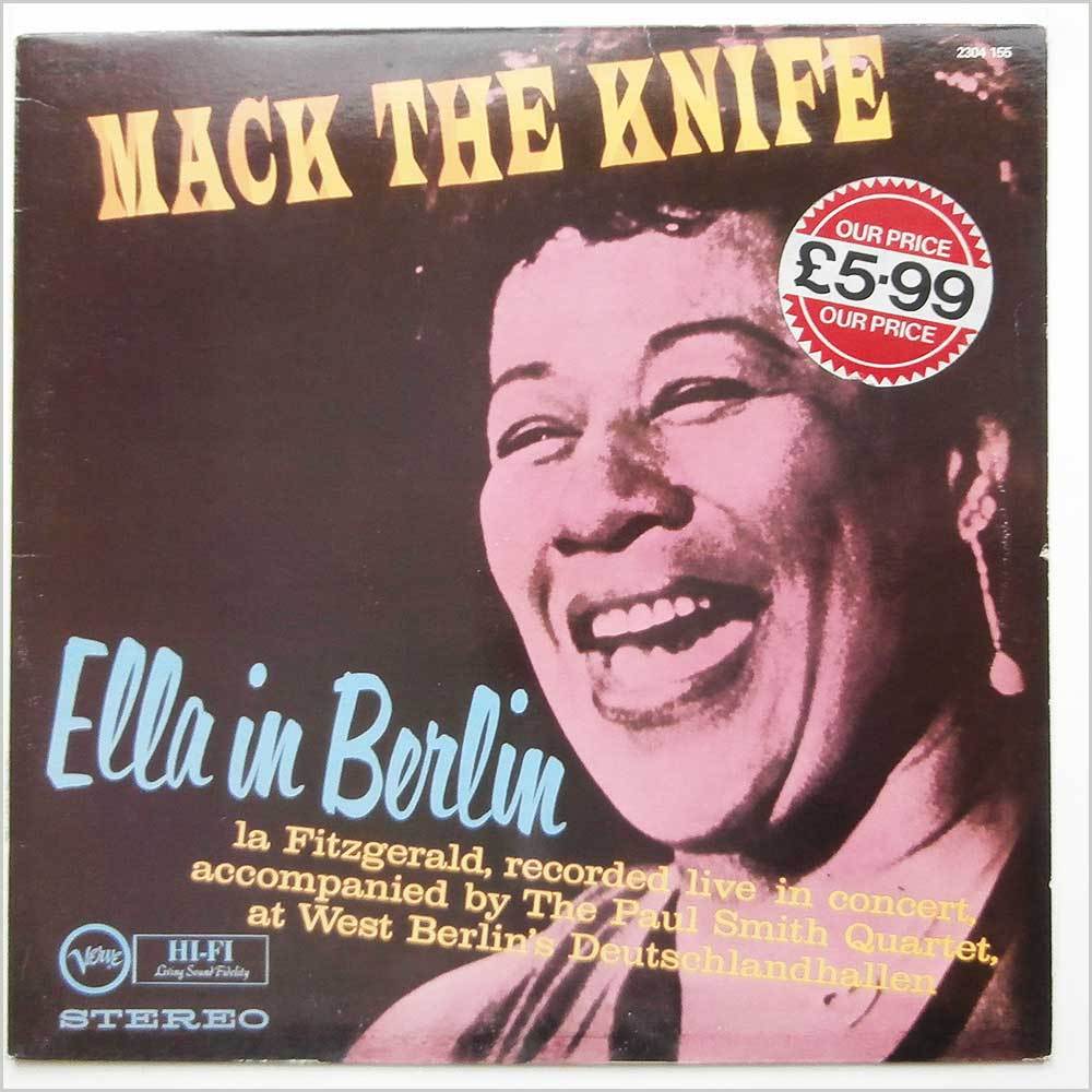 Ella Fitzgerald - Mack The Knife Record
