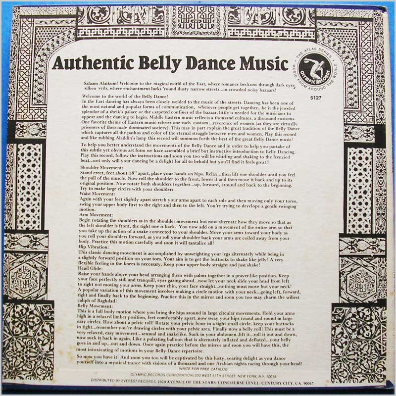 Various - Authentic Belly Dance Music (6127)