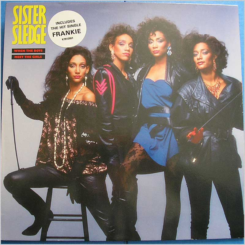 POINTER SISTERS - When The Boys Meet the Girls - LP