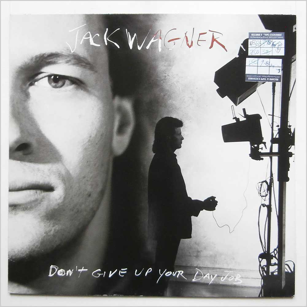 don t give up your day job by jack wagner lp recordsmerchant jack wagner don t give up your day job