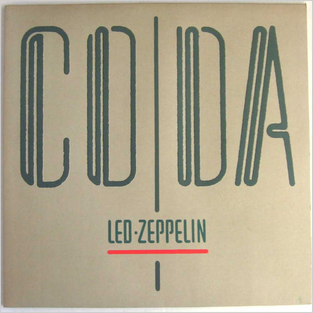 Led Zeppelin - Coda (A 0051)