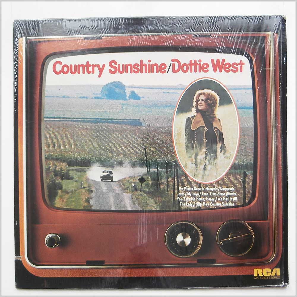 Dottie West - Country Sunshine Single