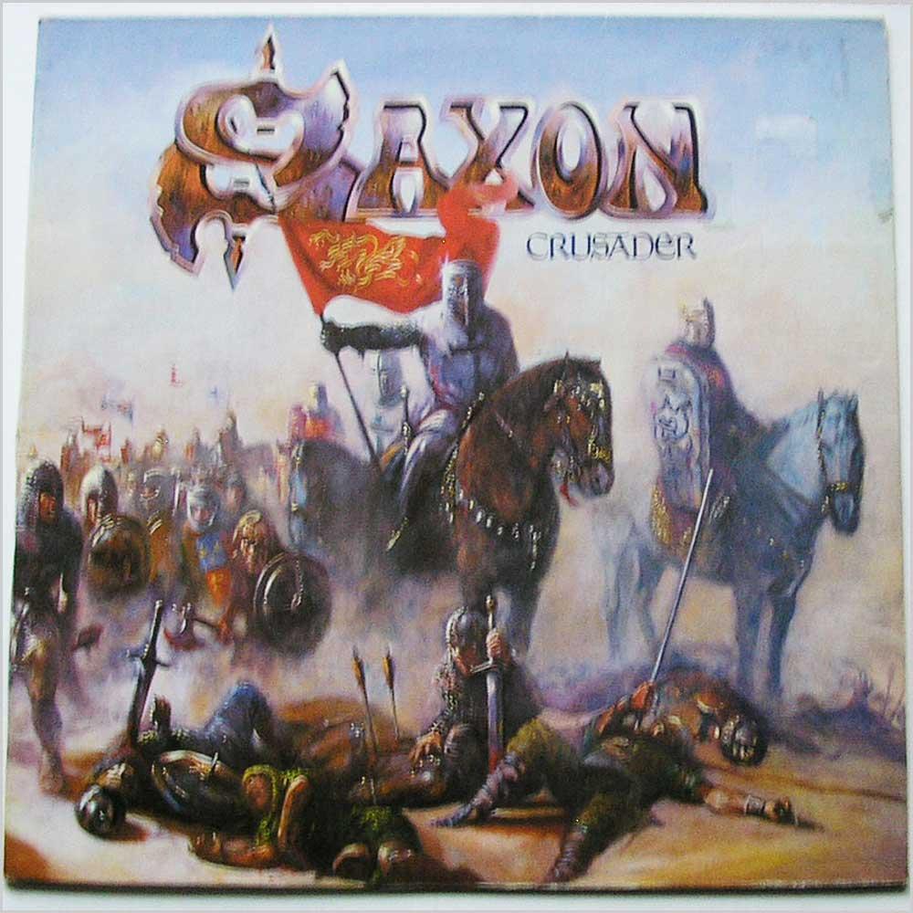 Crusader De Saxon 33 13 Rpm Con Recordsmerchant