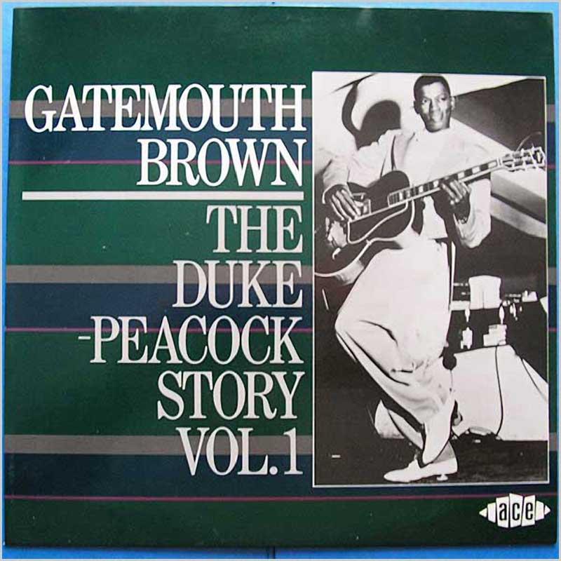 GATEMOUTH BROWN - The Duke Peacock Story Vol 1 - LP