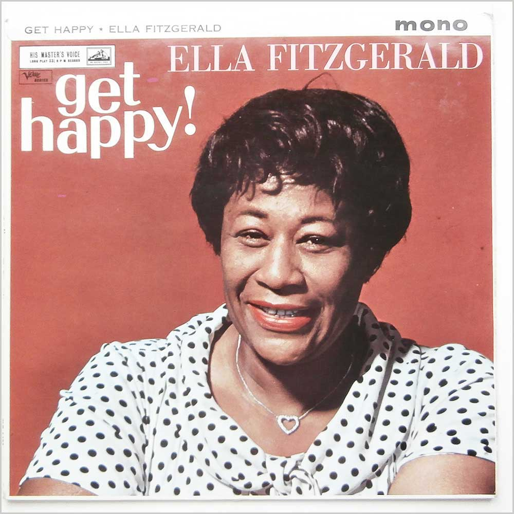Ella Fitzgerald Vinyl Record Jazz Music Lp Soul And Jazz