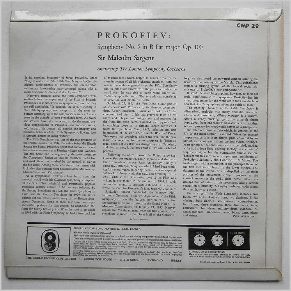 prokofiev symphony 5