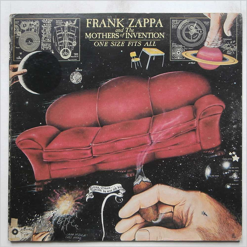 Frank Zappa and The Mothers Of Invention - One Size Fits All (DS 2216)
