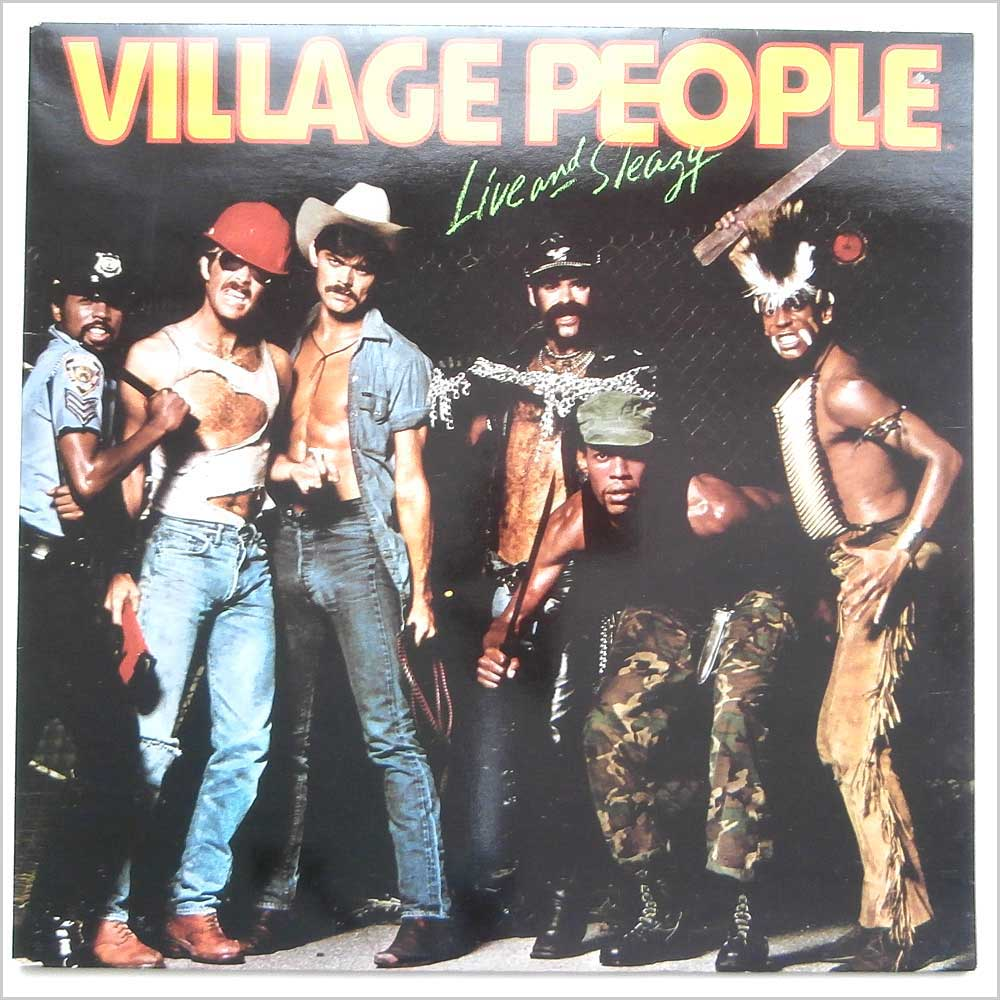 Village People Live And Sleazy Records Lps Vinyl And Cds