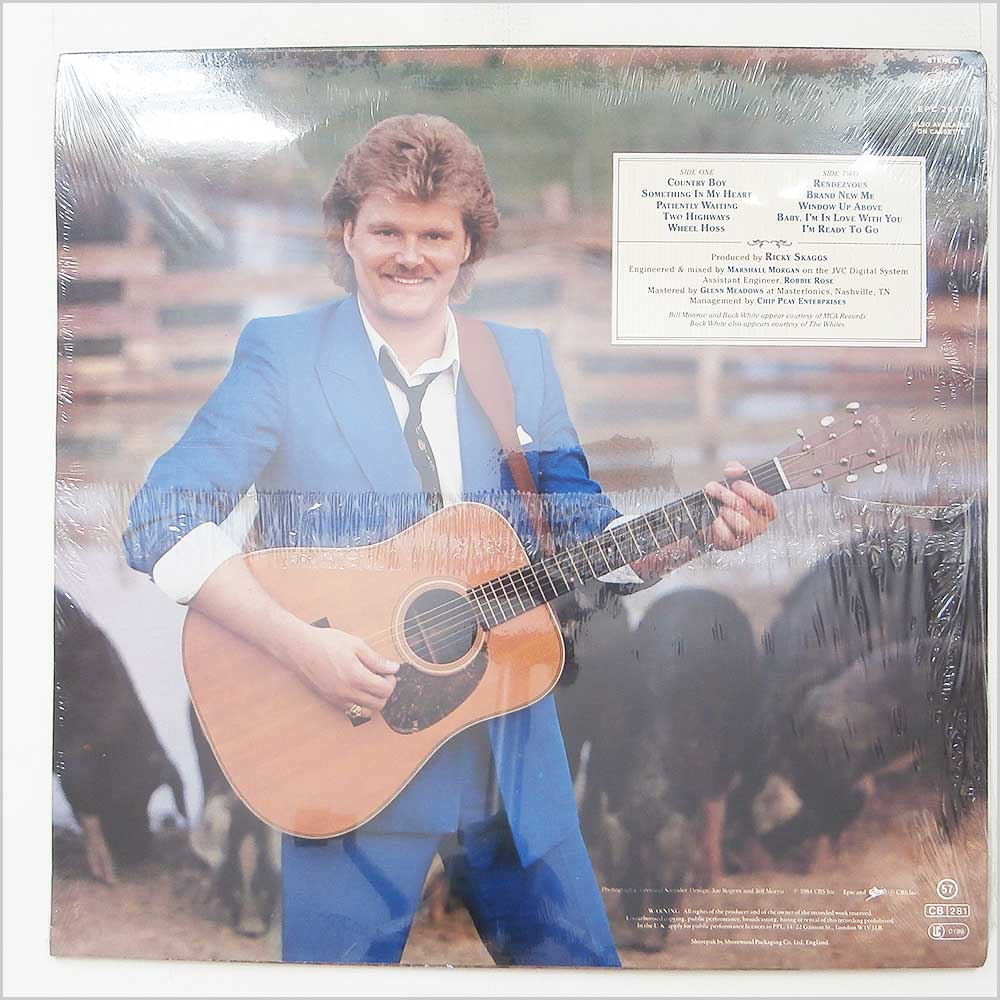 Ricky Skaggs - Country Boy (EPC 26170)