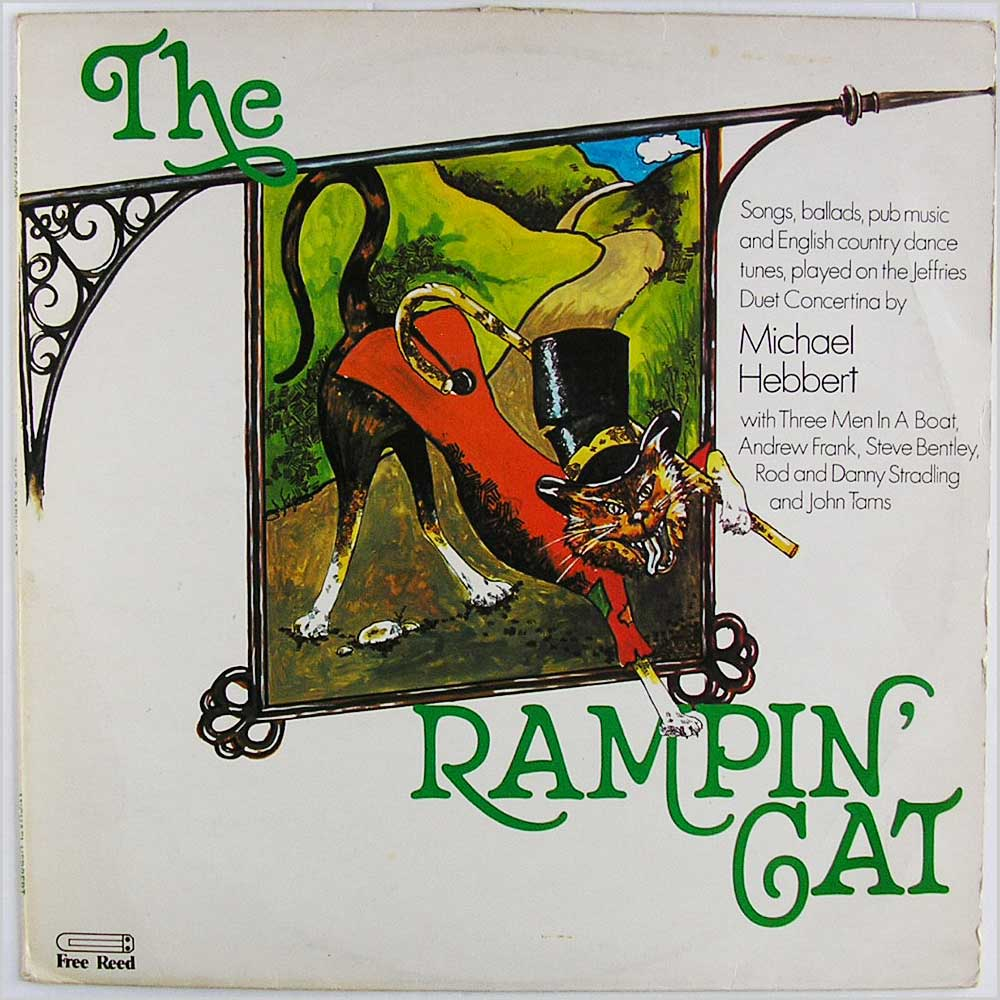 Michael Hebbert - The Rampin Cat (FRR 009)