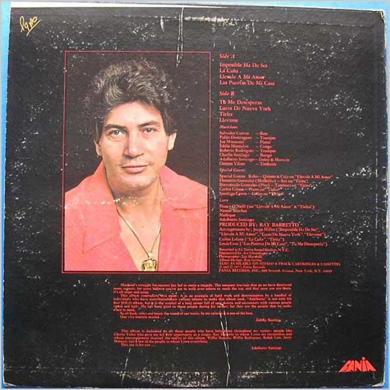 Vinyl Lp Adalberto Santiago Adalberto Jm 00512 The