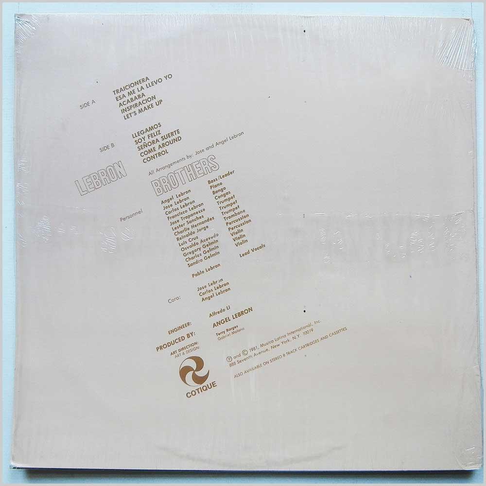 e05f00bb04a6 Vinyl LP  LEBRON BROTHERS - Hot Stuff (JMCS 1105) - The Records ...