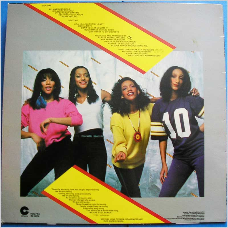 Pointer Sisters All American Girls