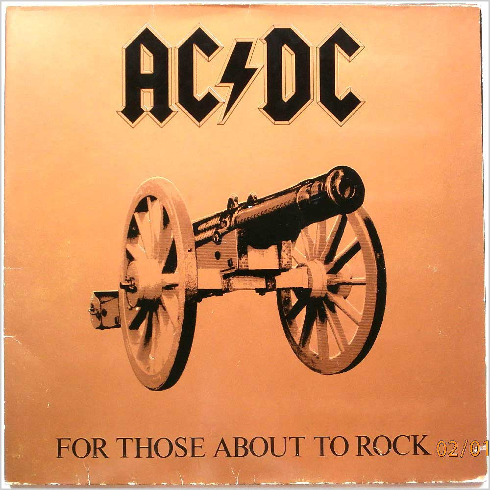 AC/DC - For Those About To Rock (We Salute You) (K 50851)