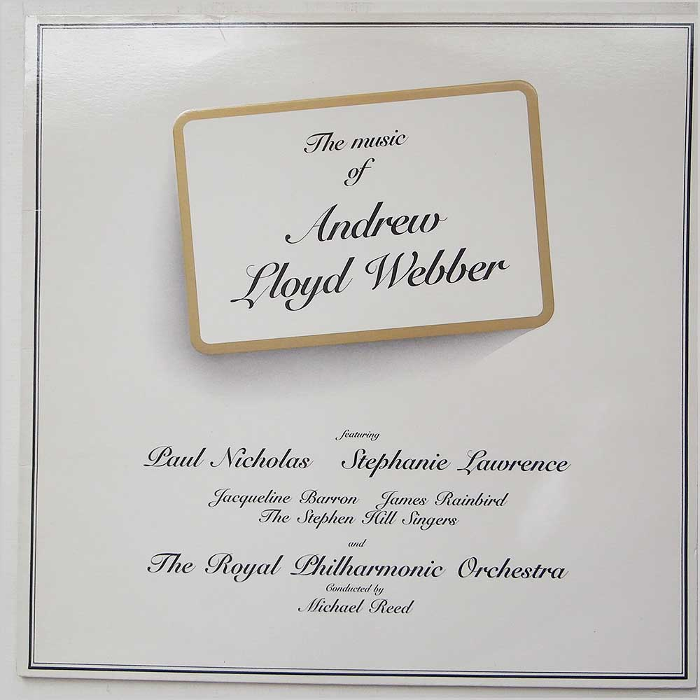 the music of andrew lloyd webber Sign in now to see your channels and recommendations sign in watch queue queue.