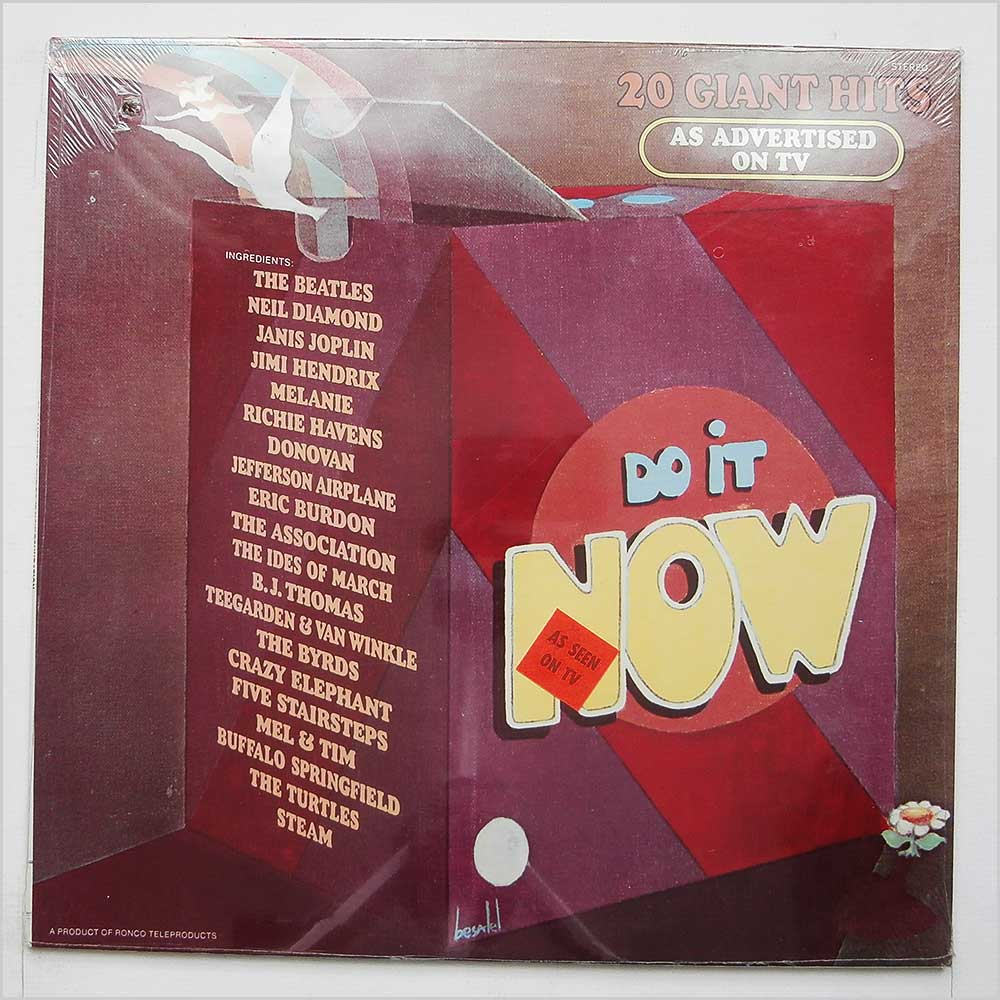 Various - The Do It Now Foundation, 20 Giant Hits (LP 1001)