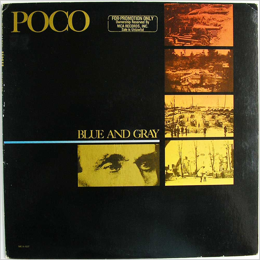 Poco - Blue And Gray (MCA-5227)