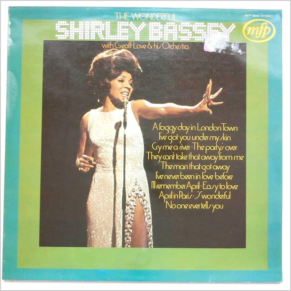 SHIRLEY BASSEY - The Wonderful Shirley Bassey - 33T