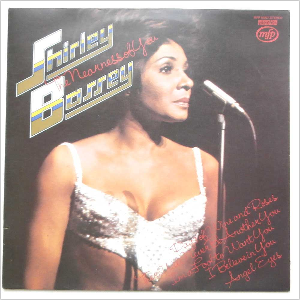 SHIRLEY BASSEY - The Nearness Of You - 33T