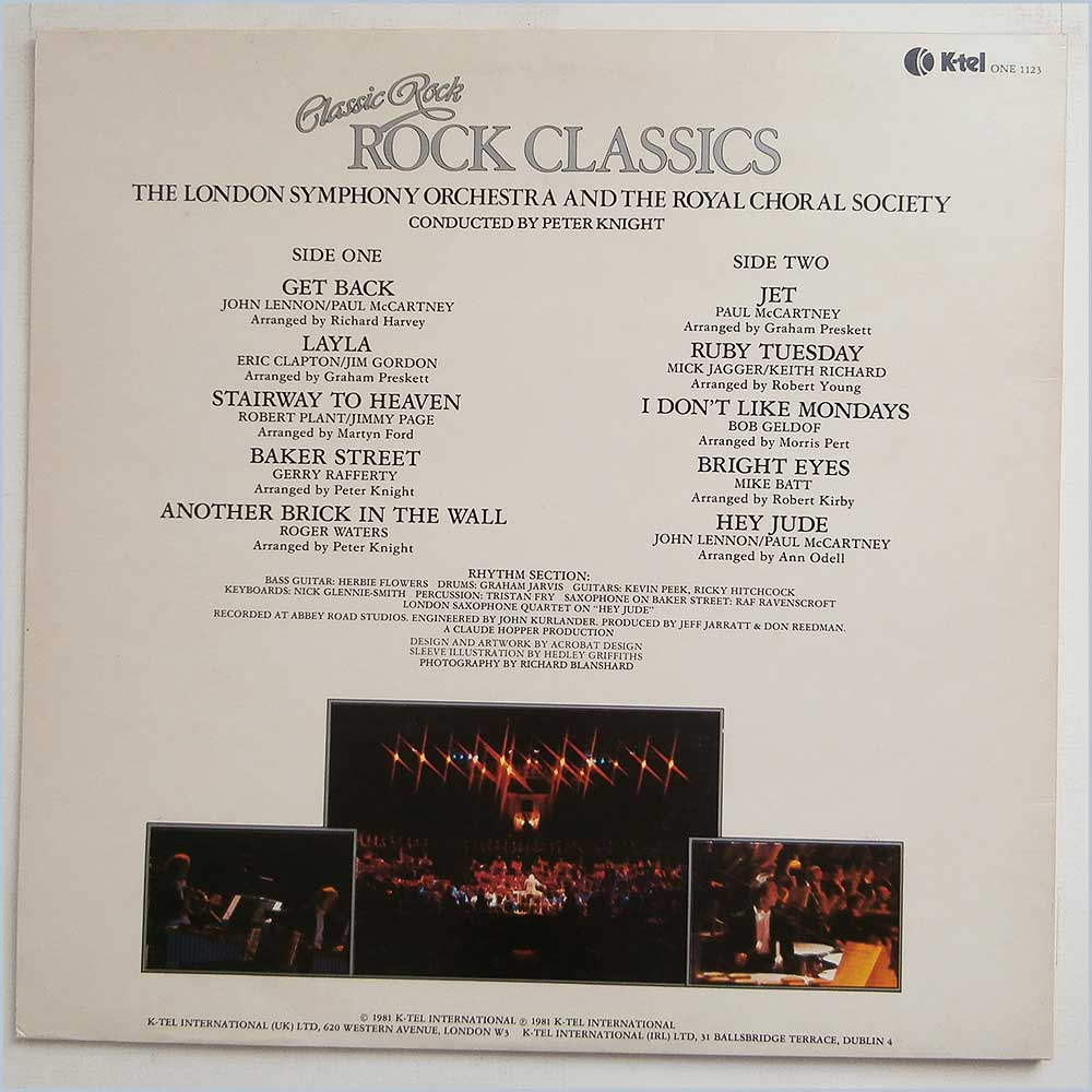 The London Symphony Orchestra and The Royal Choral Society