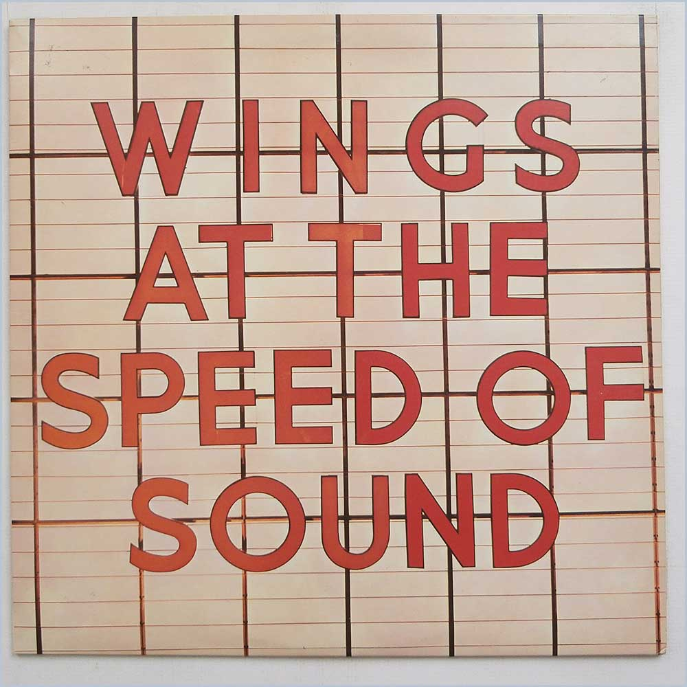 Wings - Wings At The Speed Of Sound (PAS 10010)