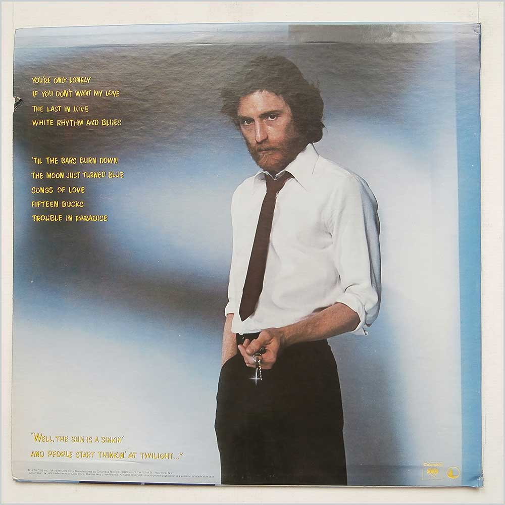 J.D. Souther - You're Only Lonely (PC 36093)