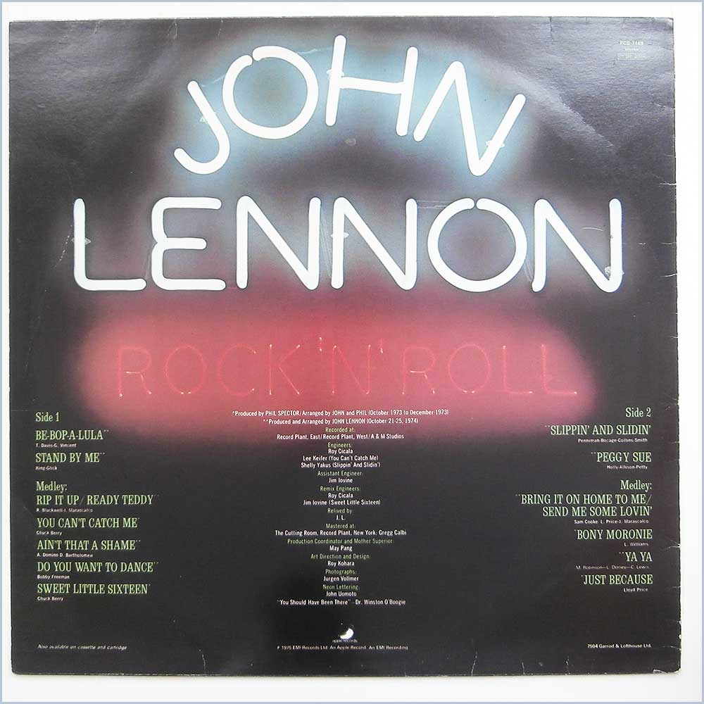 John Lennon - Rock N Roll (PCS 7169)