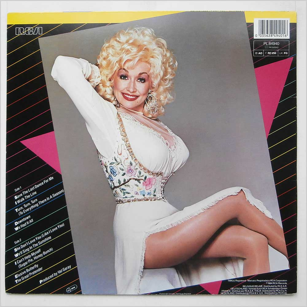 Dolly Parton - The Great Pretender (PL 84940)