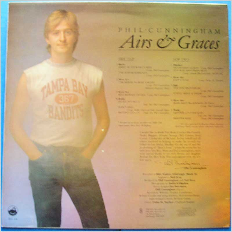 Phil Cunningham - Airs and Graces (REL 474)