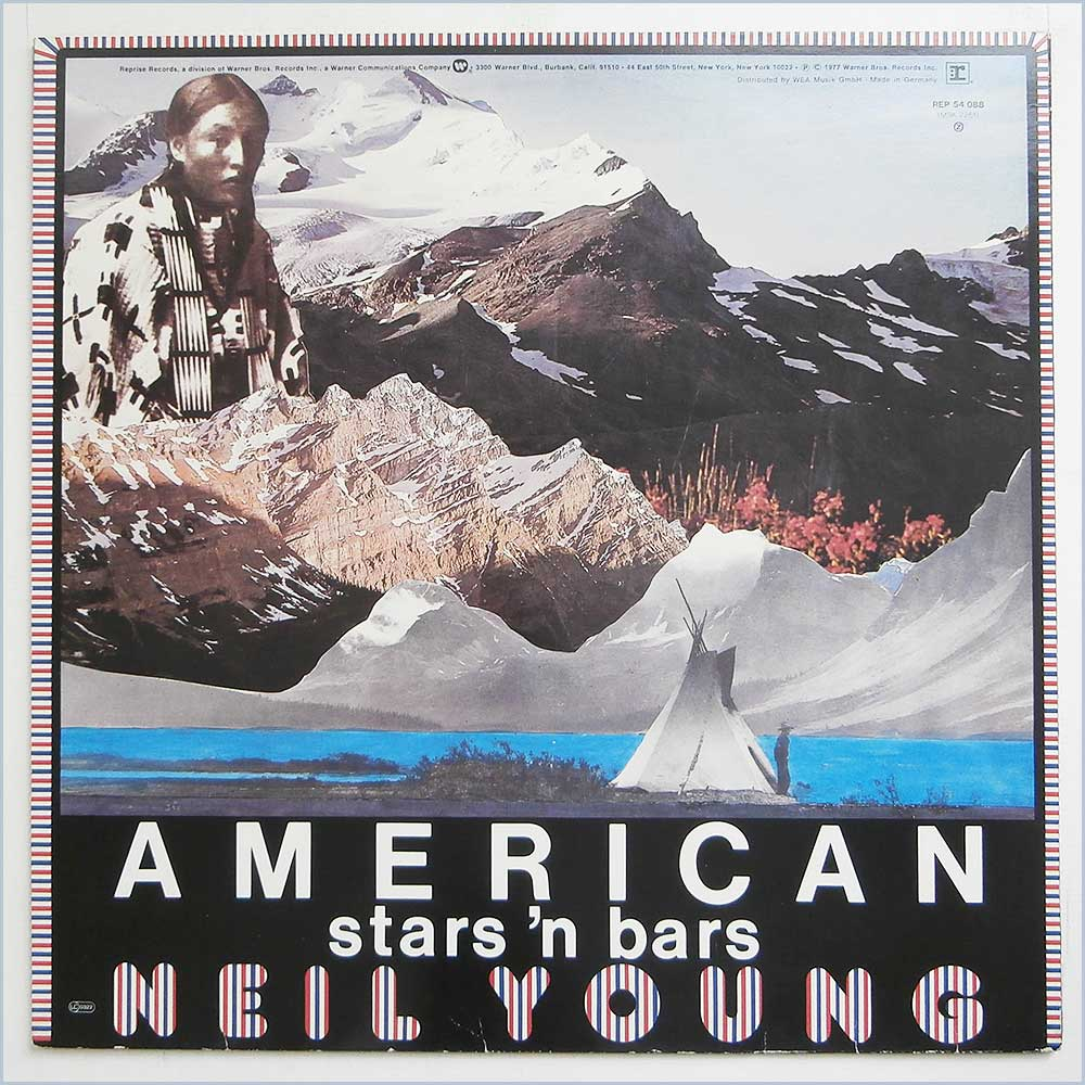 Neil Young - American Stars 'N Bars (REP 54 088)