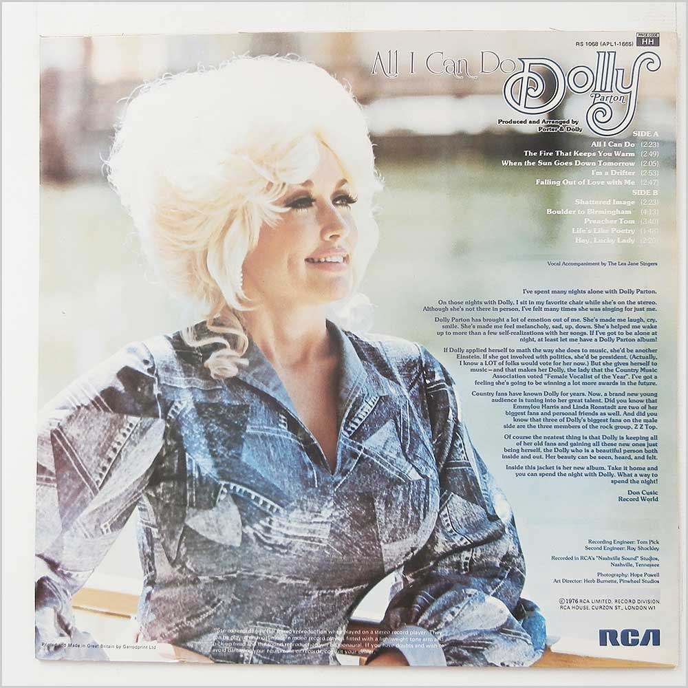 Dolly Parton - All I Can Do (RS 1068)