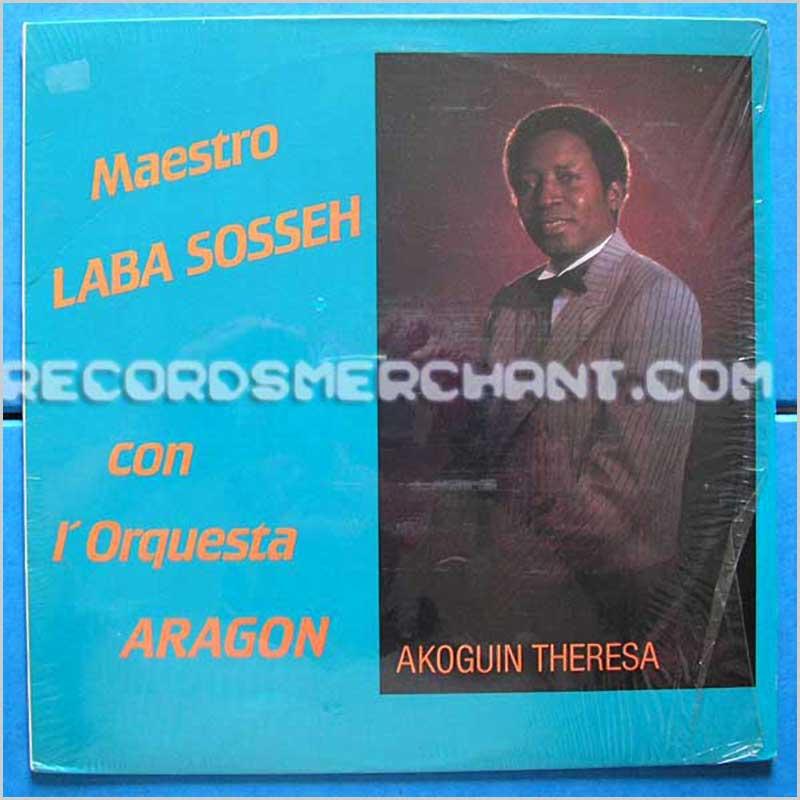 MAESTRO LABA SOSSEH CON L'ORQUESTA ARAGON - Akoguin Theresa - LP