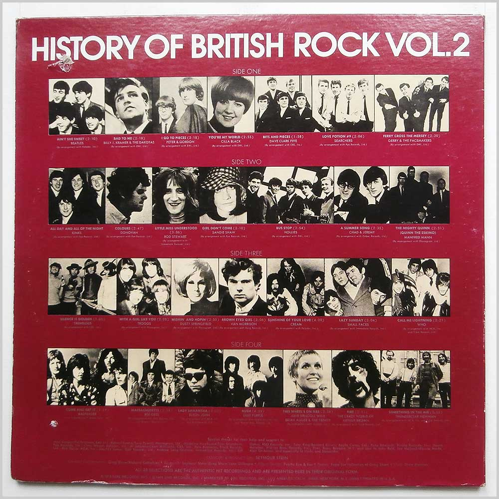 Various - History Of British Rock Vol. 2 (SASH-3705-2)
