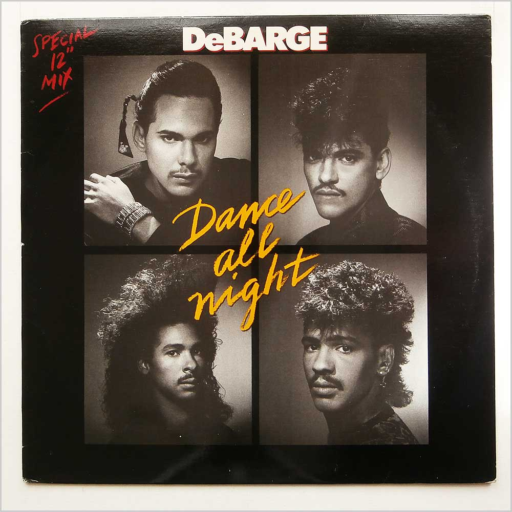 DEBARGE - Dance All Night - 12 inch 45 rpm