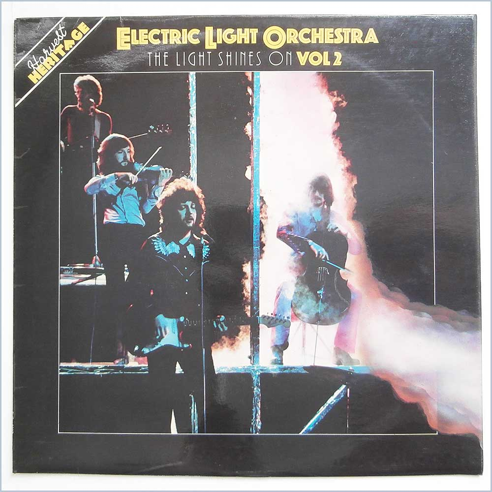 Electric light orchestra the light shines on vinyl for Lit orchestra