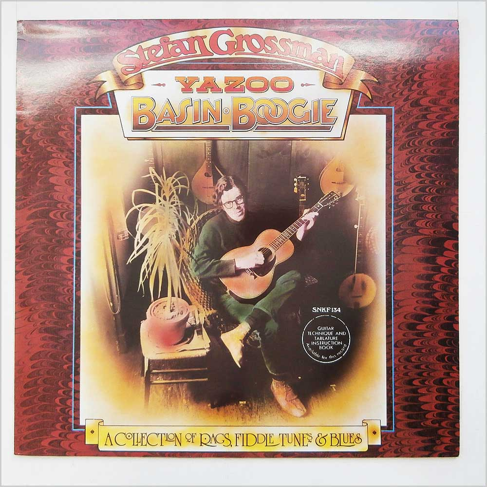 Stefan Grossman - Yazoo Basin Boogie LP