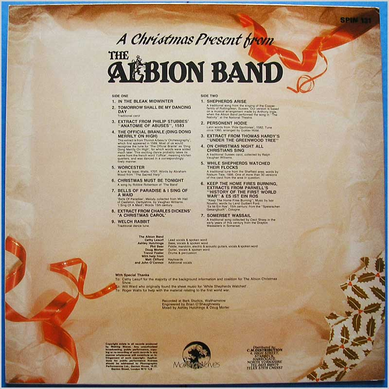 Albion Band - A Christmas Present from The Albion Band (SPIN 131)