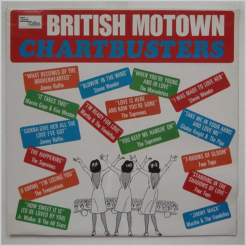 Various - British Motown Charbusters (STML 11055)